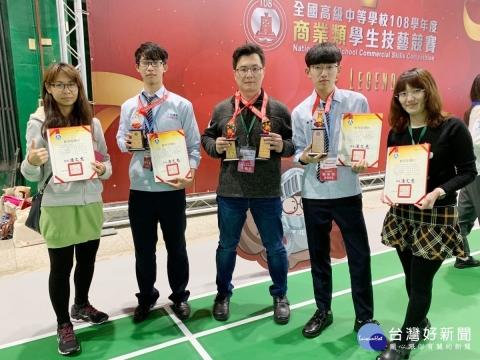 全國技藝競賽 六和高中獲1金手獎、三優勝
